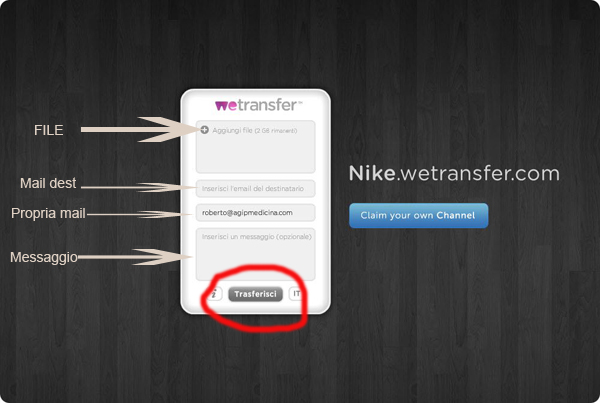Wetransfer Dati4